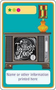 UU Cards Gen II: Rod Serling creator of the Twilight Zone.
